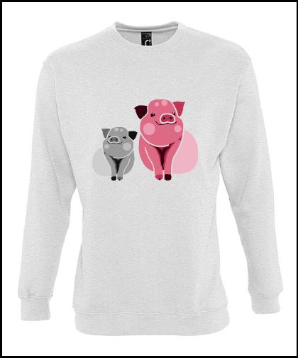 """Universalus džemperis """"PigssUniversalus džemperis """"New supreme'', Marskineliai.lt, susikurkite savo marškinėlius"""
