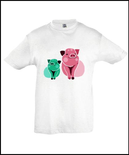 """Vaikiški marškinėliai """"Pigss"""", Marskineliai.lt, susikurkite savo marškinėlius"""