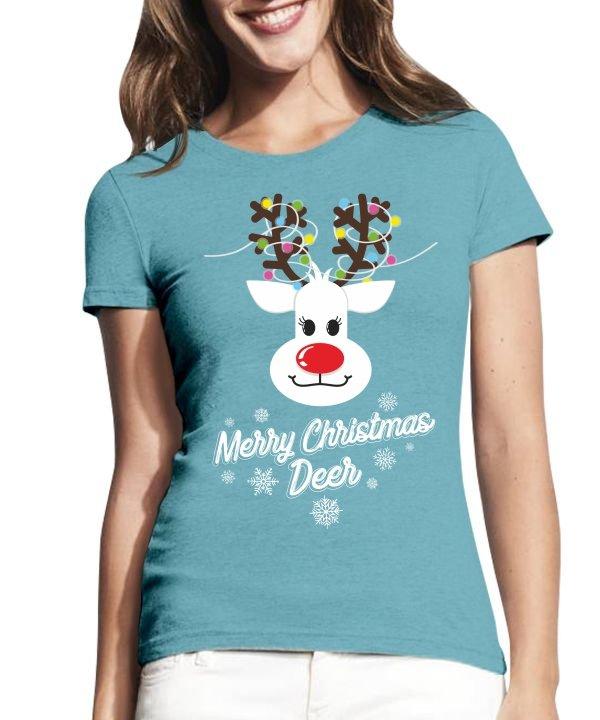 Moteriški marškinėliai ,marskineliai su nuptraukomis,kalediniai marskineliai,kaledine dovana,kaledoms