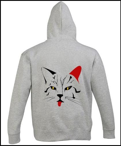 """Universalus džemperis """"Gato"""", Marskineliai.lt, susikurkite savo marškinėlius"""
