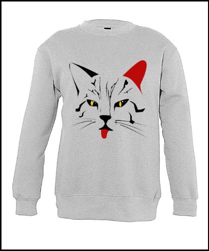 """Vaikiškas džemperis """"Gato"""", Marskineliai.lt, susikurkite savo marškinėlius"""