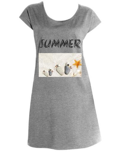 """Moteriški marškinėliai-suknelė """"SUMMER """", Marskineliai.lt, susikurkite savo marškinėlius"""