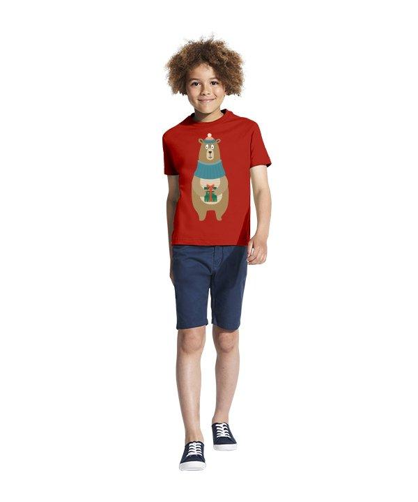 Vaikiški marškinėliai, marskineliai su spauda, marskineliai su uzrasu, kalediniai marskineliai, dovana kaledoms,kaledos