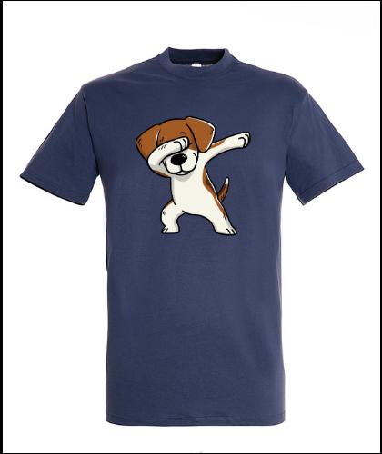 """Universalūs marškinėliai """"Regent Beagle Denim"""", Marskineliai.lt, susikurkite savo marškinėlius"""