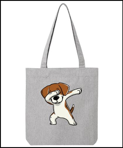 """Universalus drobinis krepšys """"Bela Beagle"""", Marskineliai.lt, susikurkite savo marškinėlius"""