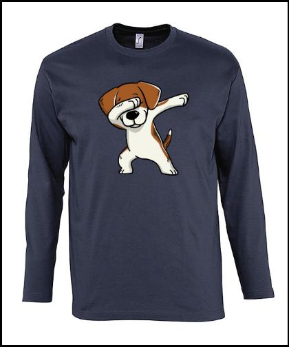 """Vyriški marškinėliai """"Monarch Beagle Blue"""", Marskineliai.lt, susikurkite savo marškinėlius"""