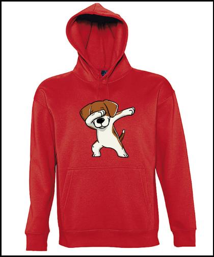 """Universalus džemperis """"Slam Beagle Red"""", Marskineliai.lt, susikurkite savo marškinėlius"""