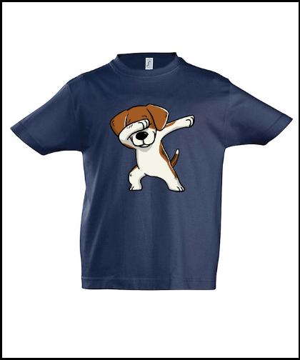 """Vaikiški marškinėliai """"Kids Beagle Dblue"""", Marskineliai.lt, susikurkite savo marškinėlius"""
