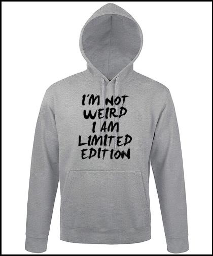 """Universalus džemperis """"Limited edition"""", Marskineliai.lt, susikurkite savo marškinėlius"""