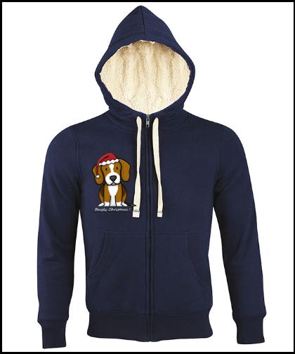 """Universalus džemperis """"Sherpa BC Blue"""", Marskineliai.lt, susikurkite savo marškinėlius"""