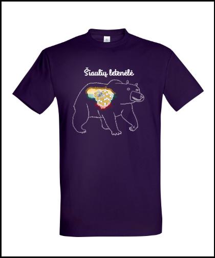 """Universalūs marškinėliai """"ŠL Medinė Meška"""", Marskineliai.lt, susikurkite savo marškinėlius"""