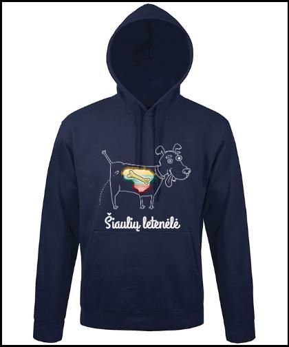 """Universalus džemperis """"ŠL Kaulinis šuo (dž)"""", Marskineliai.lt, susikurkite savo marškinėlius"""