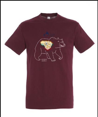 """Universalūs marškinėliai """"Medinė Meška"""", Marskineliai.lt, susikurkite savo marškinėlius"""