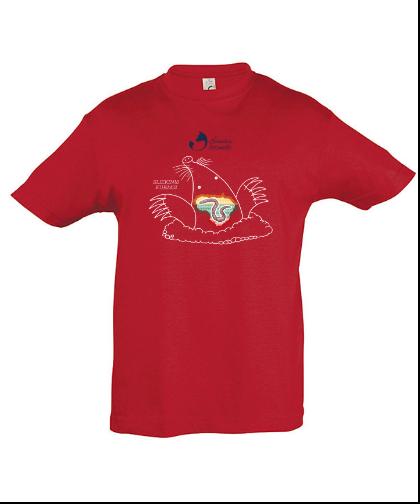 """Vaikiški marškinėliai """"Sliekinis kurmis"""", Marskineliai.lt, susikurkite savo marškinėlius"""