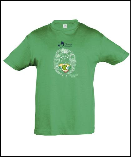 """Vaikiški marškinėliai """"Obuolinis Ežys"""", Marskineliai.lt, susikurkite savo marškinėlius"""