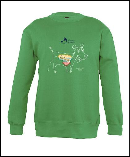 """Vaikiškas džemperis """"Kaulinis Šuo"""", Marskineliai.lt, susikurkite savo marškinėlius"""
