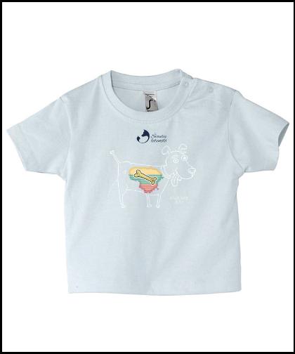 """Vaikiški marškinėliai """"Kaulinis Šuo"""", Marskineliai.lt, susikurkite savo marškinėlius"""