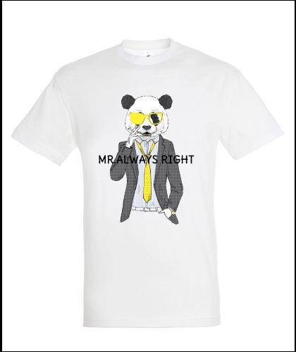 """Universalūs marškinėliai """"#alwaysright"""", Marskineliai.lt, susikurkite savo marškinėlius"""