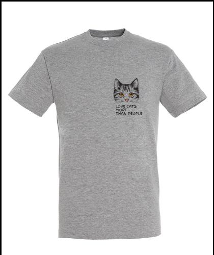 """Universalūs marškinėliai """"#catlover"""", Marskineliai.lt, susikurkite savo marškinėlius"""