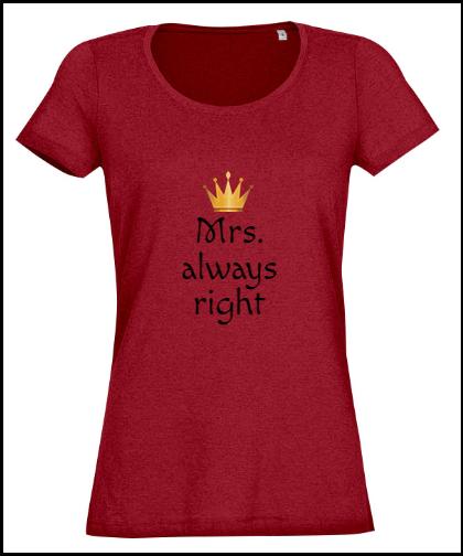 """Moteriški marškinėliai """"her """", Marskineliai.lt, susikurkite savo marškinėlius"""