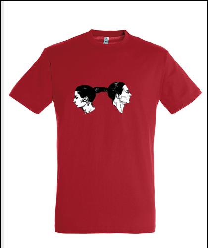 """Universalūs marškinėliai """"Marina Abramovic ir """", Marskineliai.lt, susikurkite savo marškinėlius"""