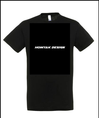 """Universalūs marškinėliai """"Homyak Design"""", Marskineliai.lt, susikurkite savo marškinėlius"""