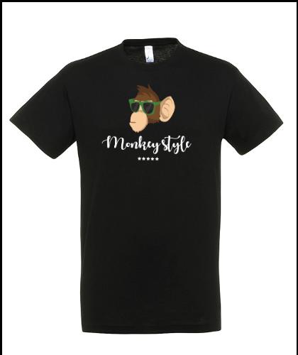 """Universalūs marškinėliai """"Monkey style"""", Marskineliai.lt, susikurkite savo marškinėlius"""