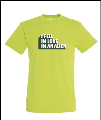 """Universalūs marškinėliai """"Fell in love"""", Marskineliai.lt, susikurkite savo marškinėlius"""