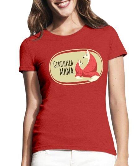 """Moteriški marškinėliai mamai su spauda """"Mama laputė"""""""
