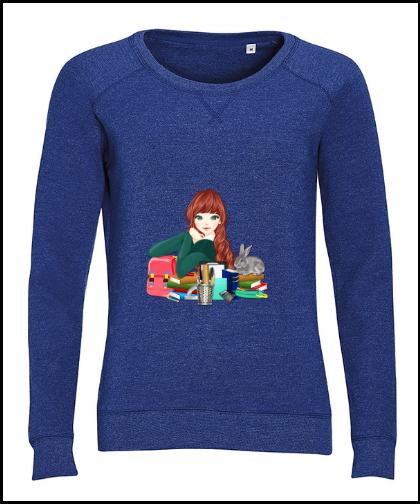 """Moteriškas džemperis """"Work"""", Marskineliai.lt, susikurkite savo marškinėlius"""