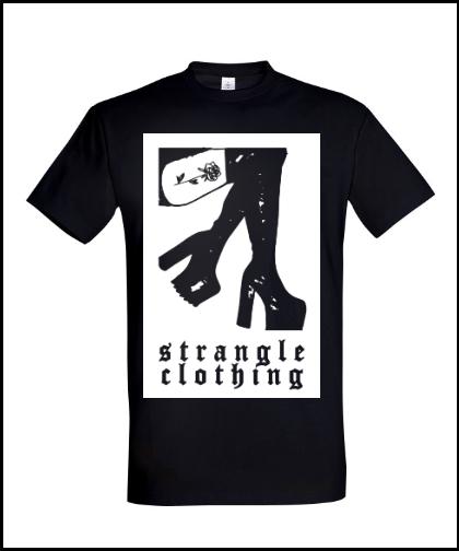 """Universalūs marškinėliai """"BLACK ROSE TATTOO"""", Marskineliai.lt, susikurkite savo marškinėlius"""