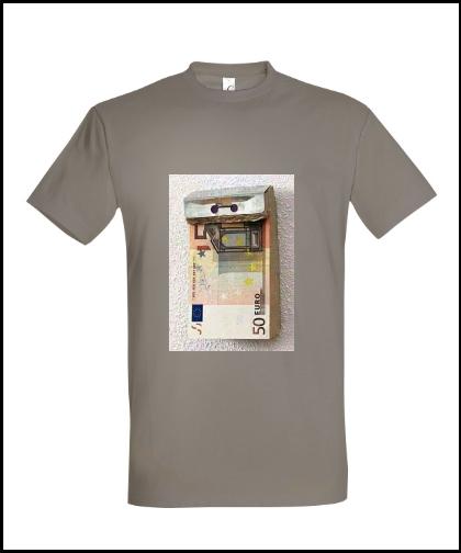 """Universalūs marškinėliai """"Euro"""", Marskineliai.lt, susikurkite savo marškinėlius"""
