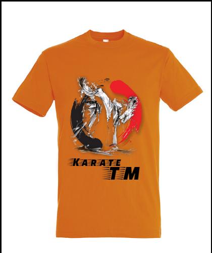 """Universalūs marškinėliai """"Karate"""", Marskineliai.lt, susikurkite savo marškinėlius"""