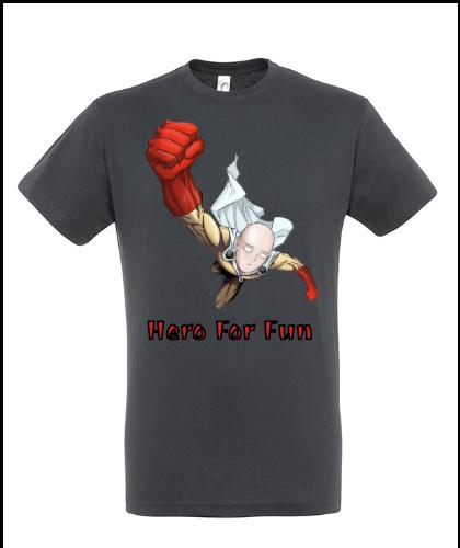 """Universalūs marškinėliai """"Hero For Fun"""", Marskineliai.lt, susikurkite savo marškinėlius"""