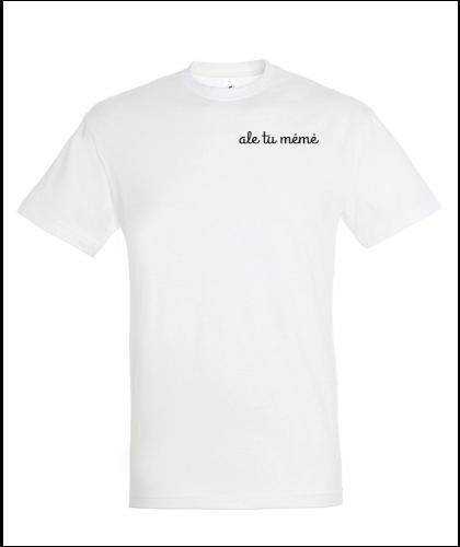 """Universalūs marškinėliai """"ale tu mėmė"""", Marskineliai.lt, susikurkite savo marškinėlius"""