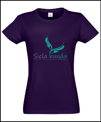 """Moteriški marškinėliai """"Siela bunda ST2600"""", Marskineliai.lt, susikurkite savo marškinėlius"""