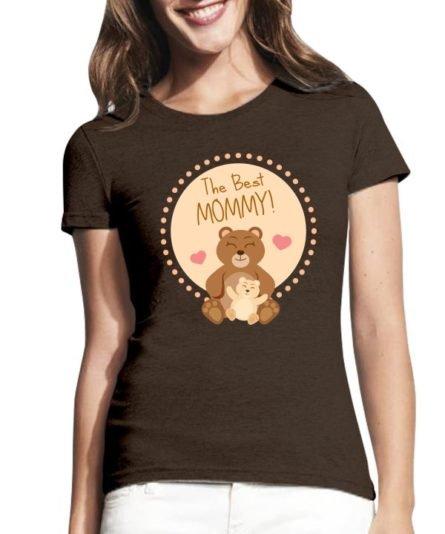 Moteriški marškinėliai su spauda The best mommy