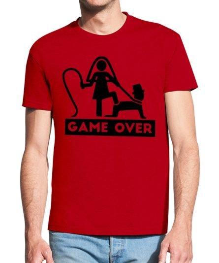 Vyriški marškinėliai Game over