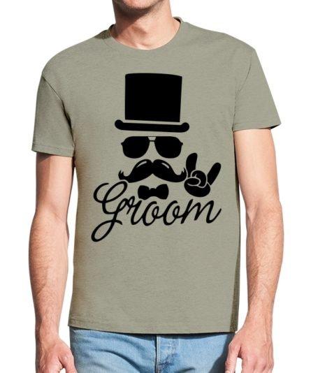 Vyriški marškinėliai Jaunikis