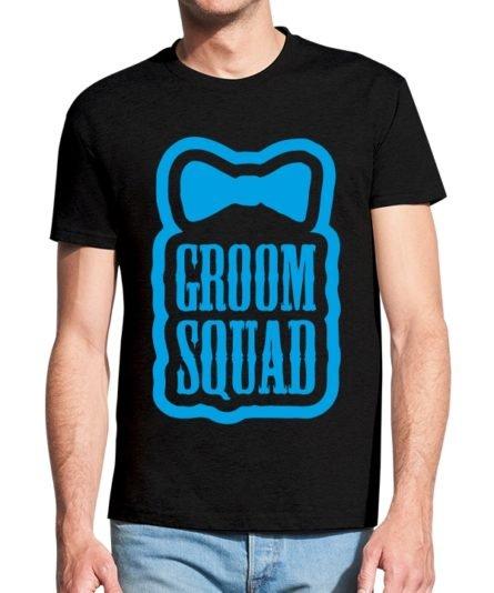 Vyriški marškinėliai su spauda Groom squad