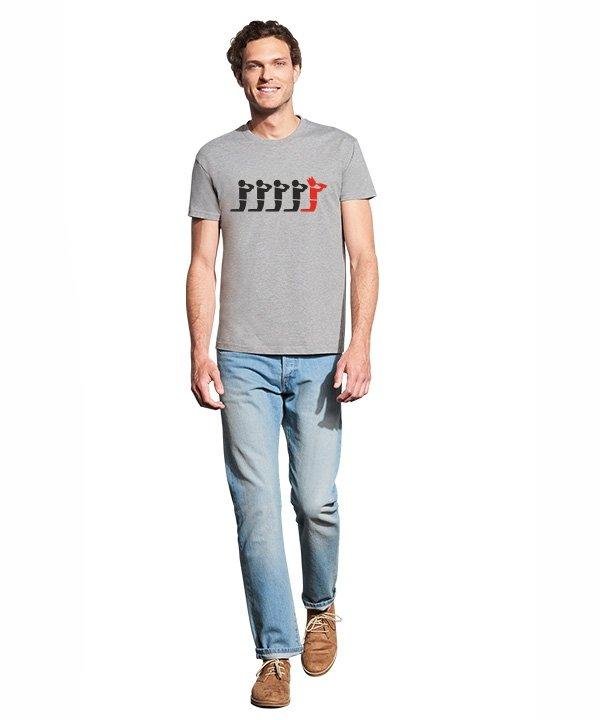 Vyriški marškinėliai Jaunikio komanda