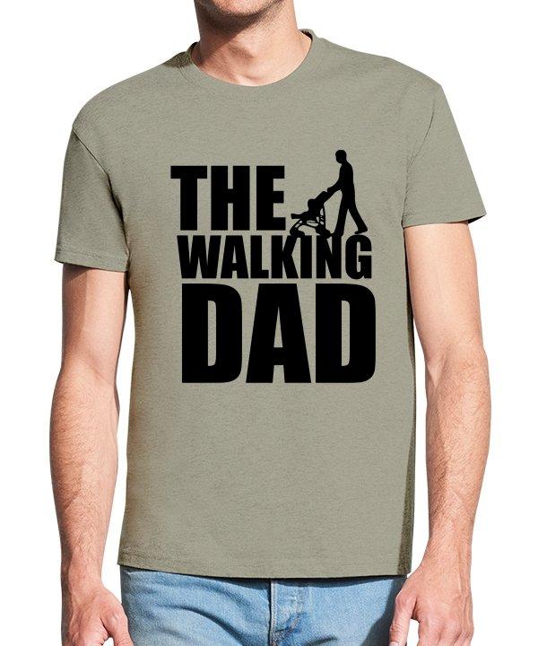 Vyriški marškinėliai su spauda The walking dad