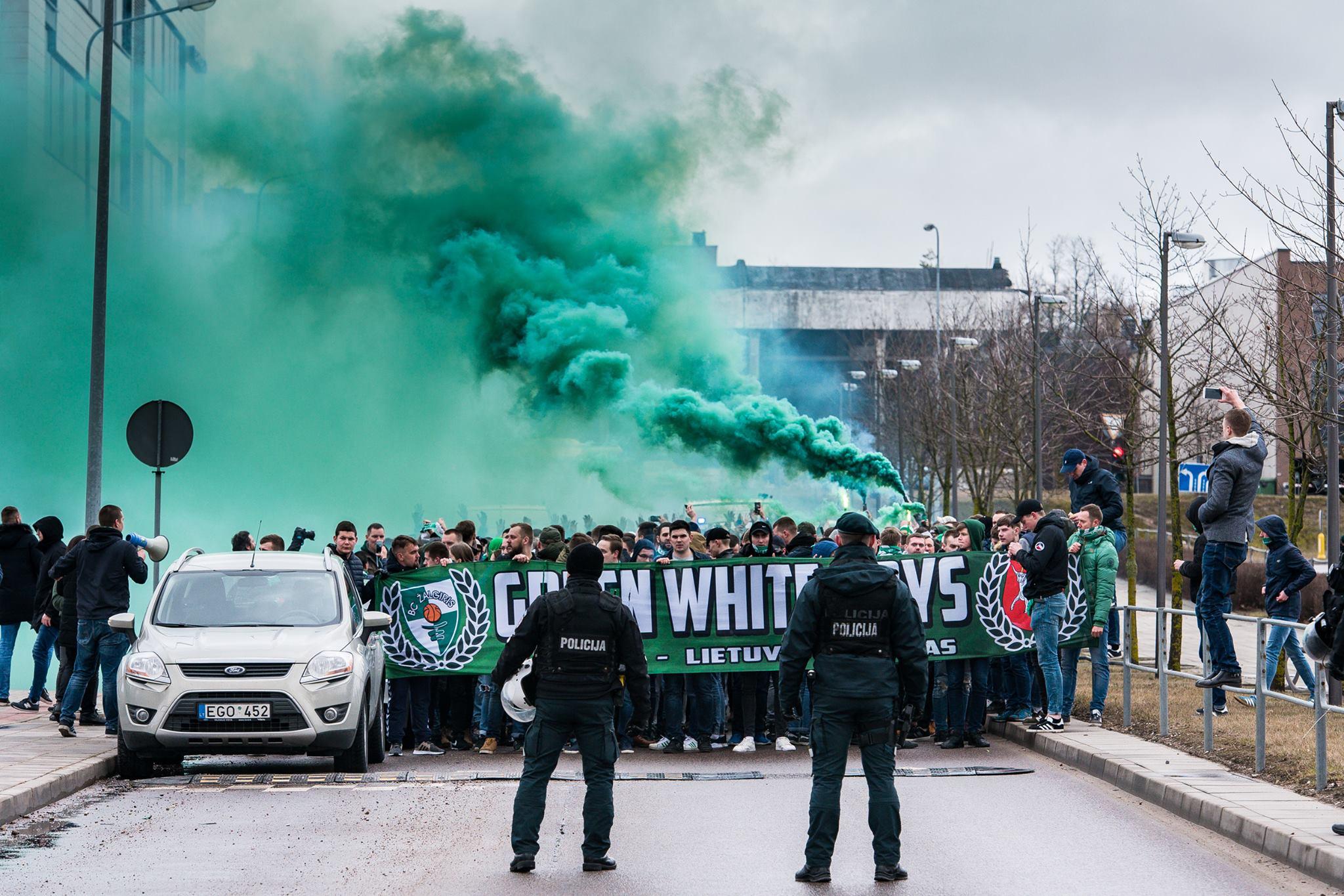 Green White Boys