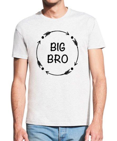 Vyriški marškinėliai su spauda Big bro