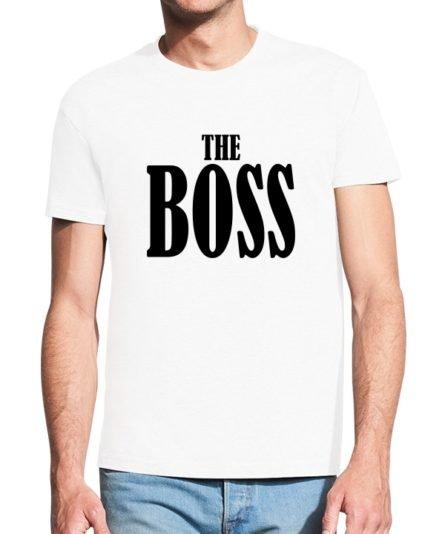 Vyriški marškinėliai su spauda The Boss